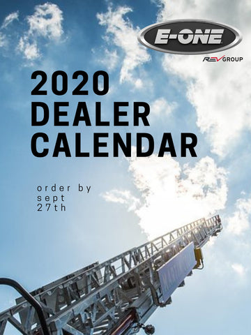 Fulfillment Calendar for CONTRACTED DEALERS- no Shipping.
