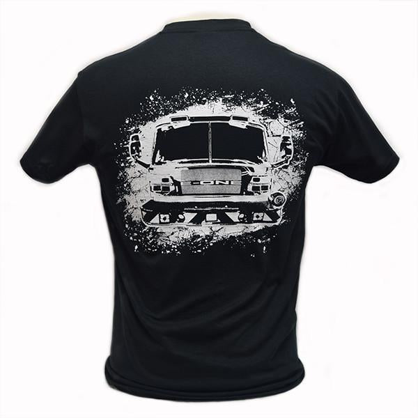 Fire Truck Shirt Back