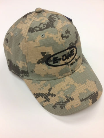 Velcro Adjustable Digital Camo Cap with US Flag Patch