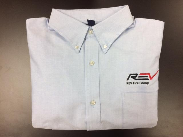 REV Fire Group Men's Oxford Shirt for CONTRACTED DEALERS