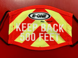 E-ONE Fire Truck Face Mask Chevron