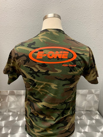 E-ONE Camouflage  T-shirt