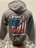 Stars and Stripes Aerial Zip Hoodie