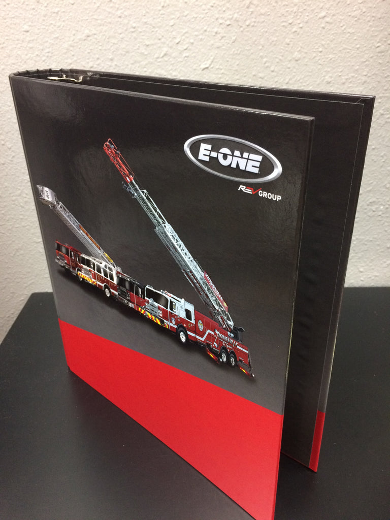E-ONE Bid Binder - 3/4-inch  for CONTRACTED DEALERS