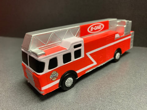 E-ONE Aerial Fire Truck Squeeze Toy