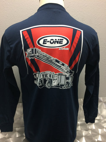 Men's Gildan Longsleeve E-ONE Aerial T-Shirt