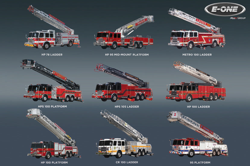E-ONE Fire Truck Blanket