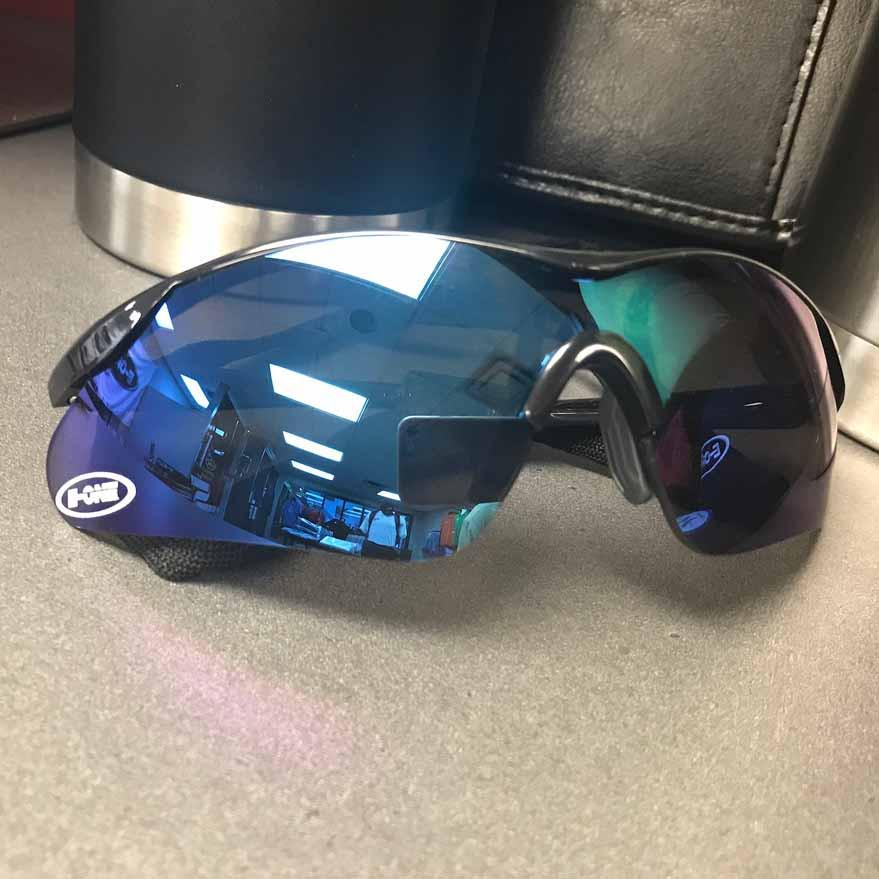 Blue ERB Safety Sunglasses