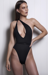 Farrah Black One Piece