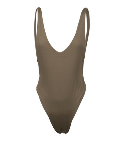Elle Khaki One Piece