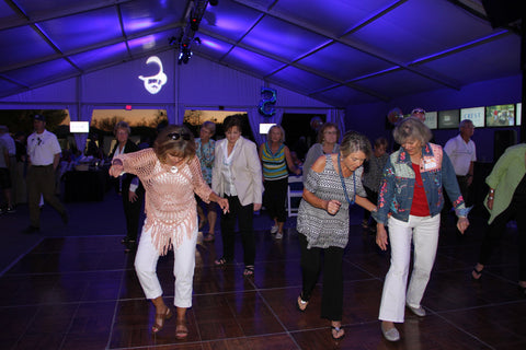 Cologuard Classic volunteers dancing