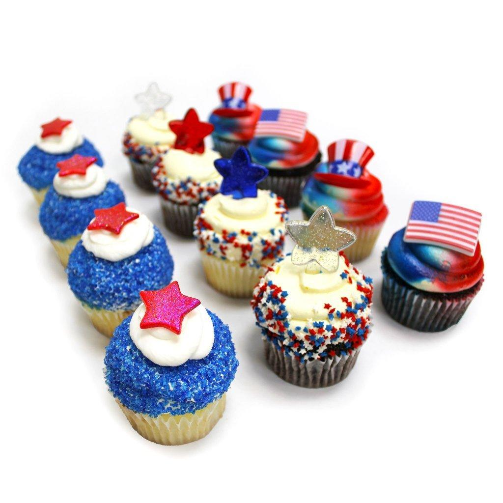 July 4th Cupcakes Cupcake Freed's Bakery