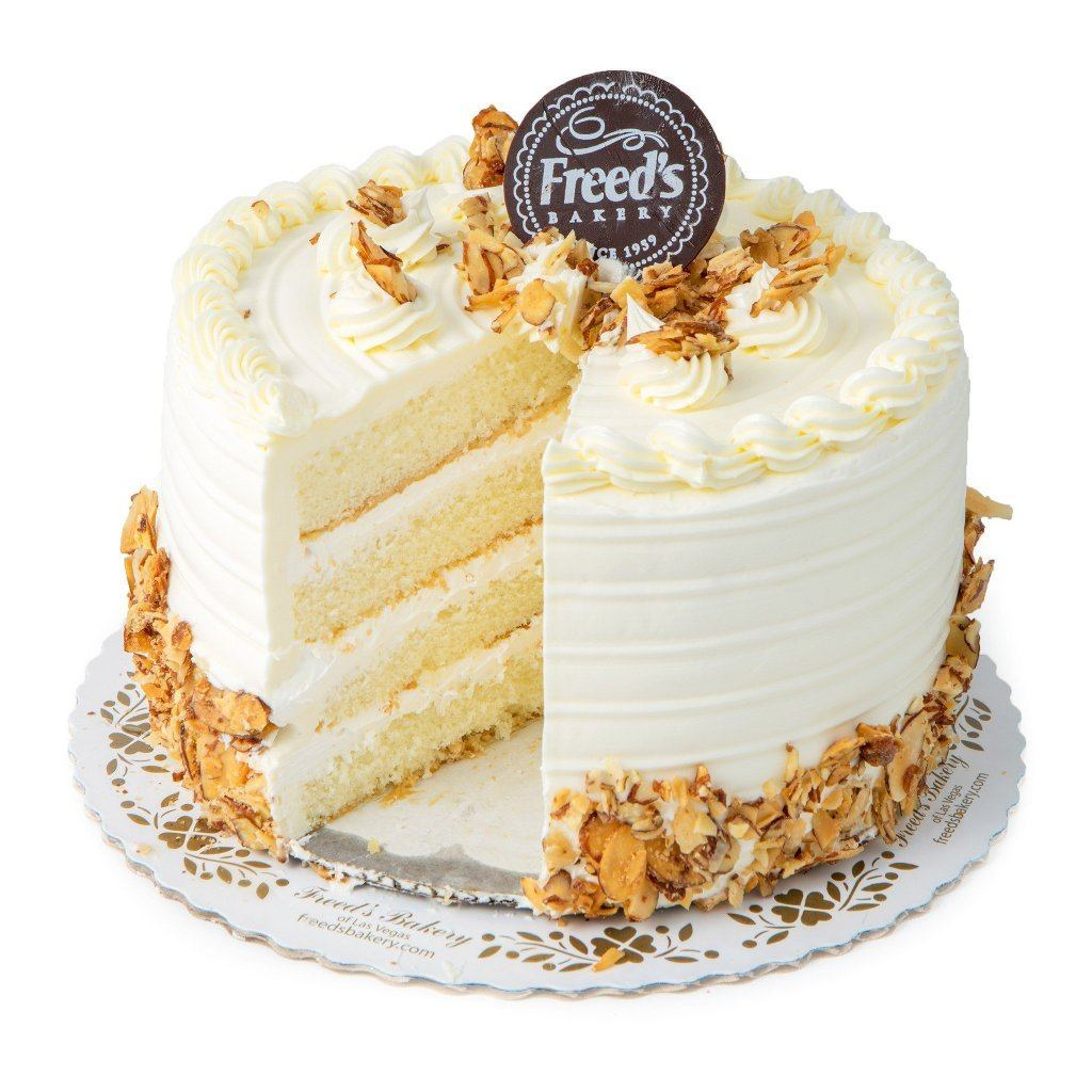 Almond & Amaretto Cake Cake Freed's Bakery