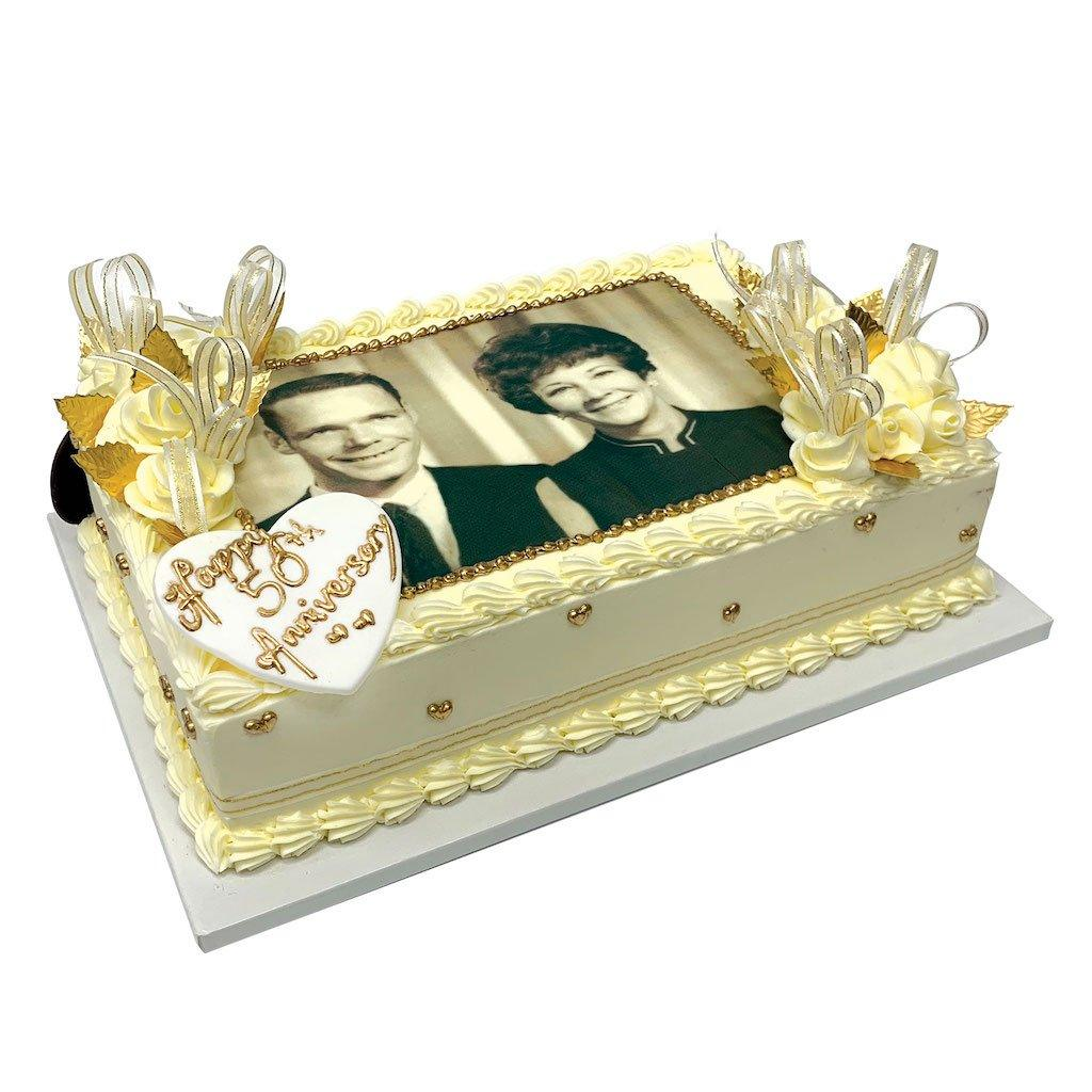 Golden Moment Theme Cake Freed's Bakery