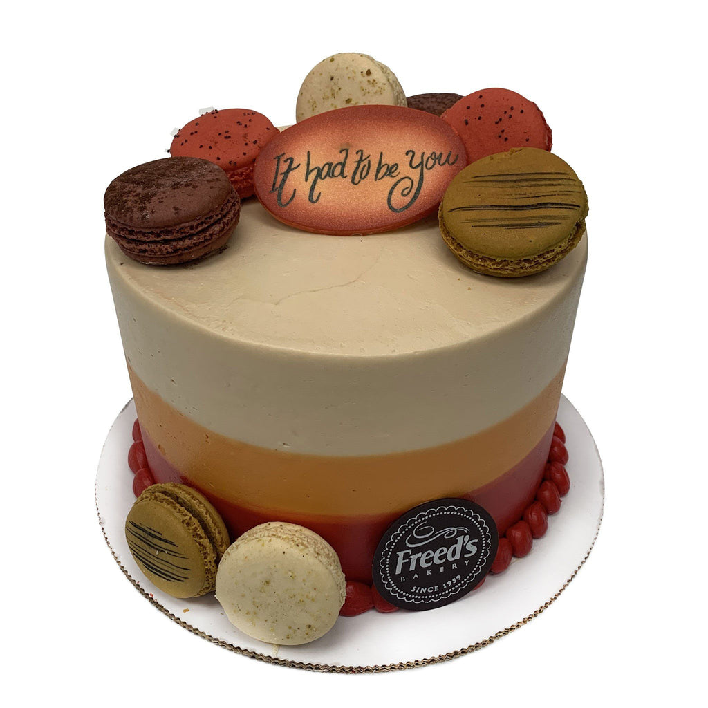 Autumn Macarons Cake Freed's Bakery