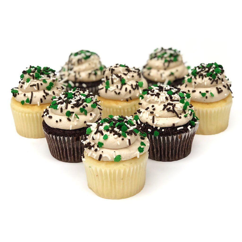 Baileys Irish Cream Cupcakes St. Patrick's Day Freed's Bakery