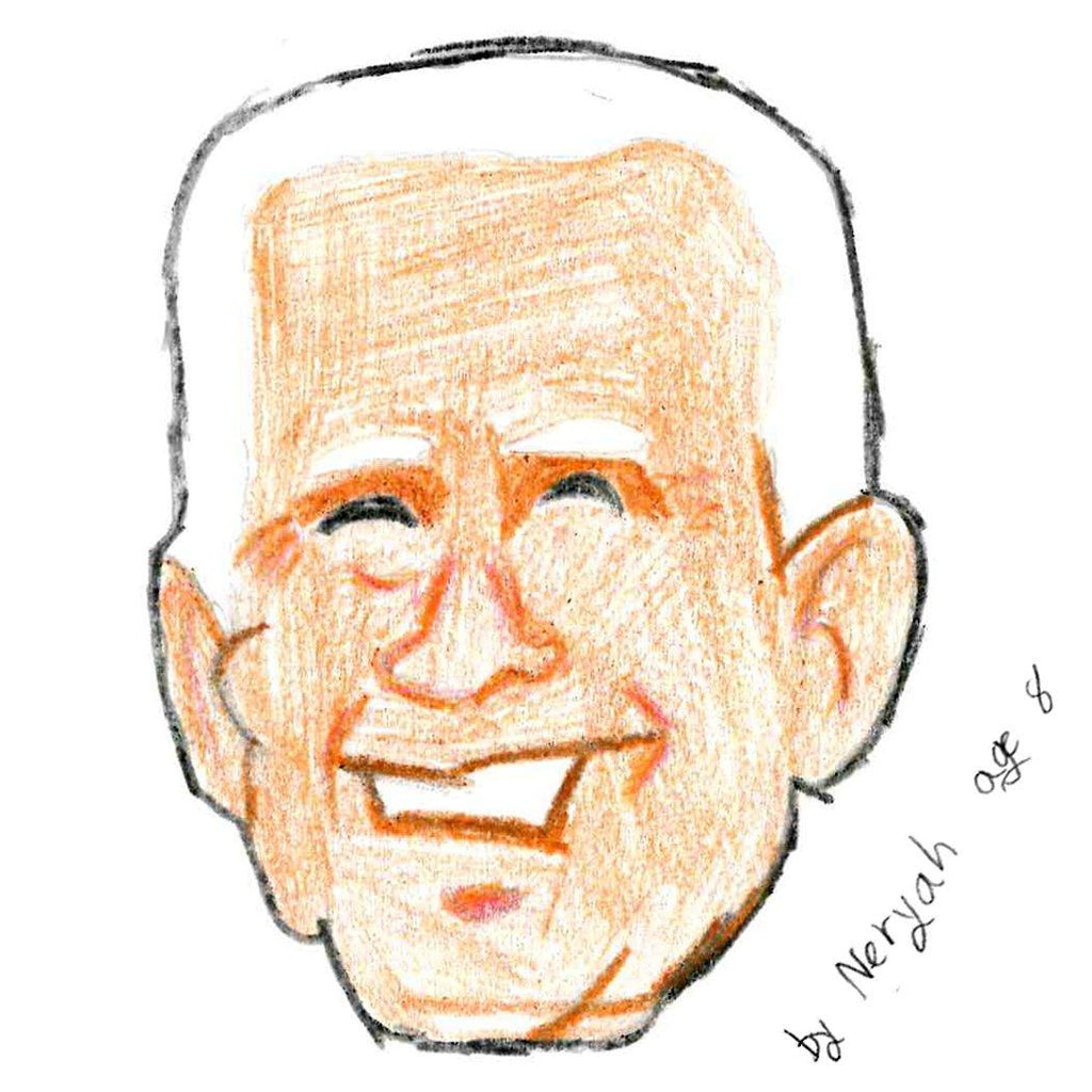 2020 Candidate Cookie - Joe Biden Cutout Cookie Freed's Bakery