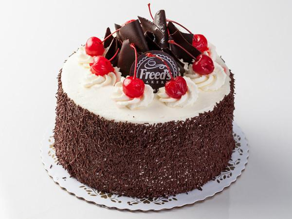 Black Forest Cake Slice Cake Slice & Pastry Freed's Bakery