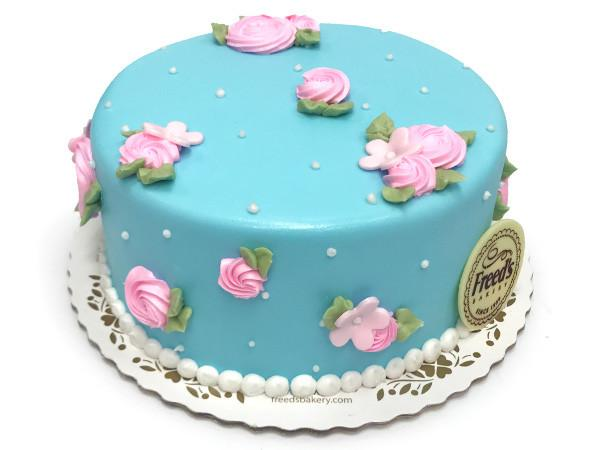 sky flower cake decorating class freed s bakery