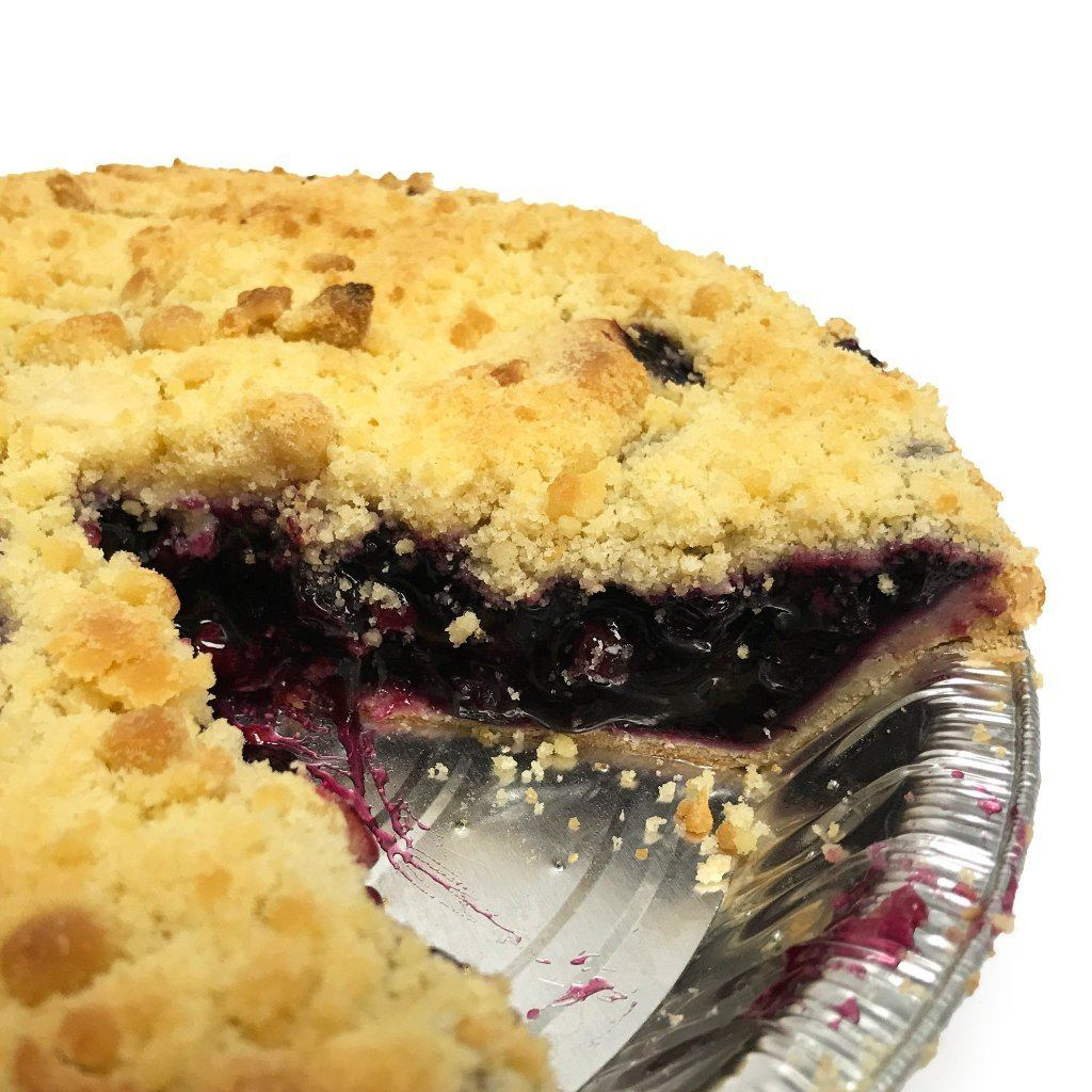 Blueberry Crumble Pie Pie Freed's Bakery