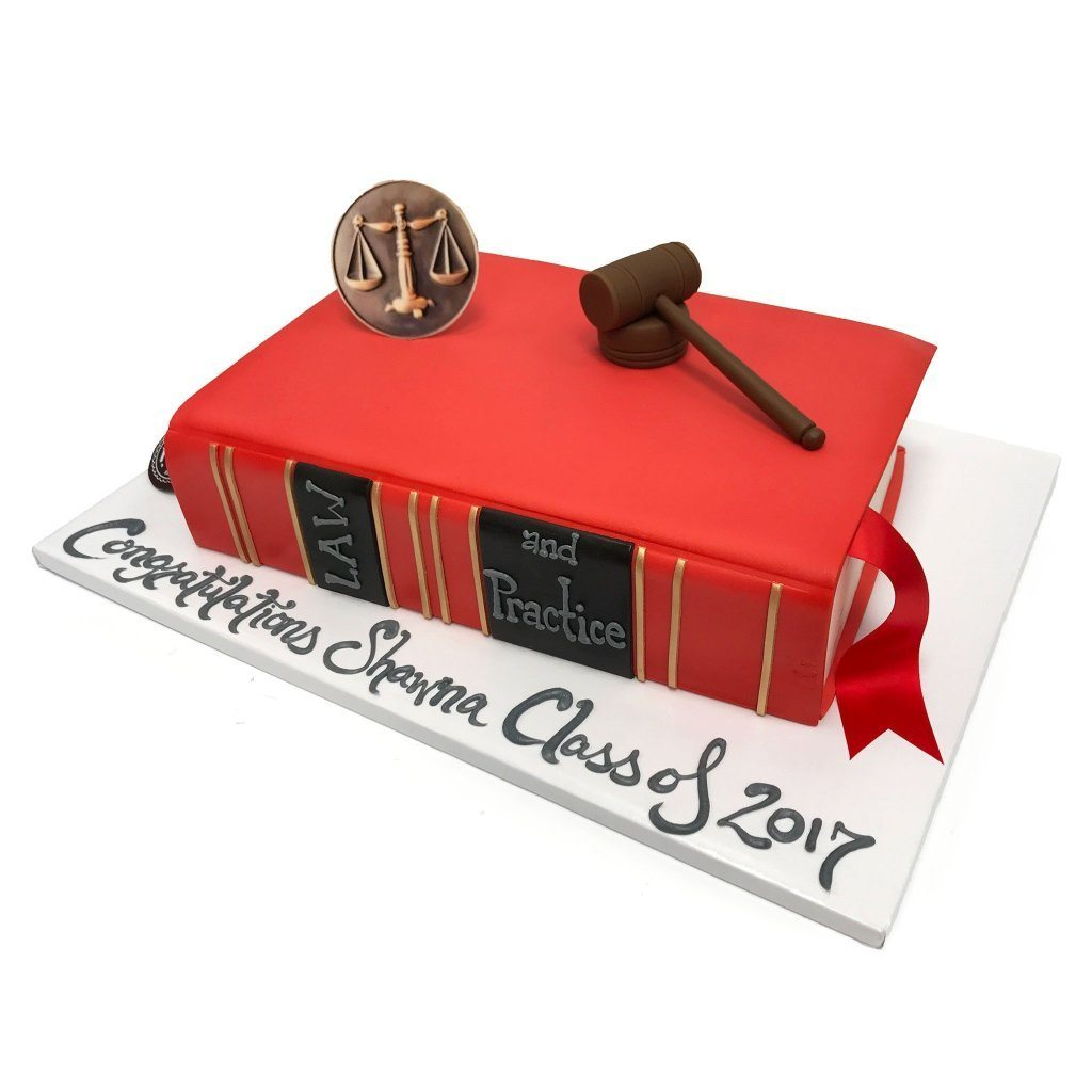 Book Of Law Theme Cake Freed's Bakery