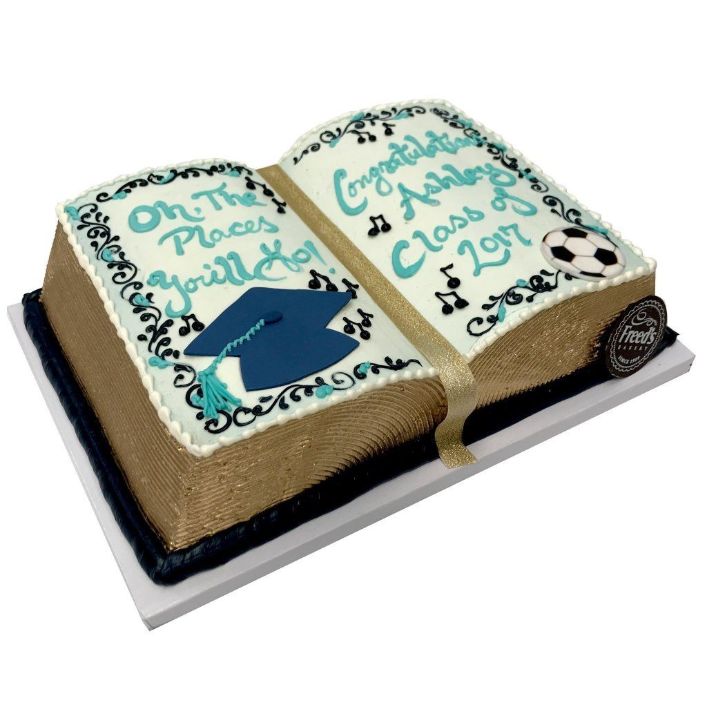 Book Worm Theme Cake Freed's Bakery
