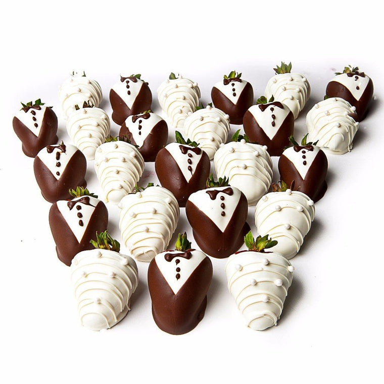 Bride and Groom Strawberries