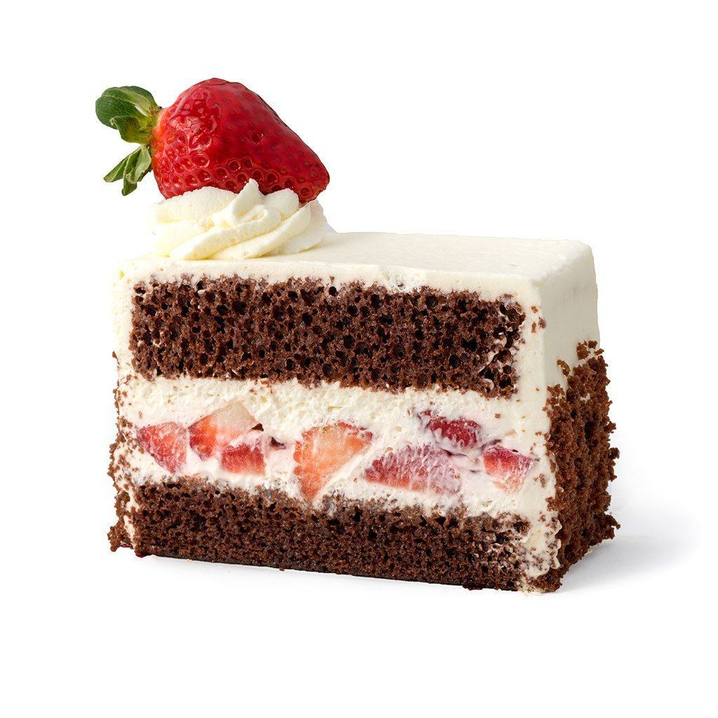 Cozy-Sized Brown Derby Chocolate Shortcake Dessert Cake Freed's Bakery
