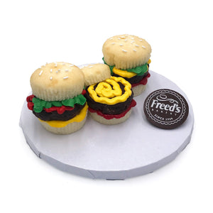 Hamburger Cupcake Decorating Class