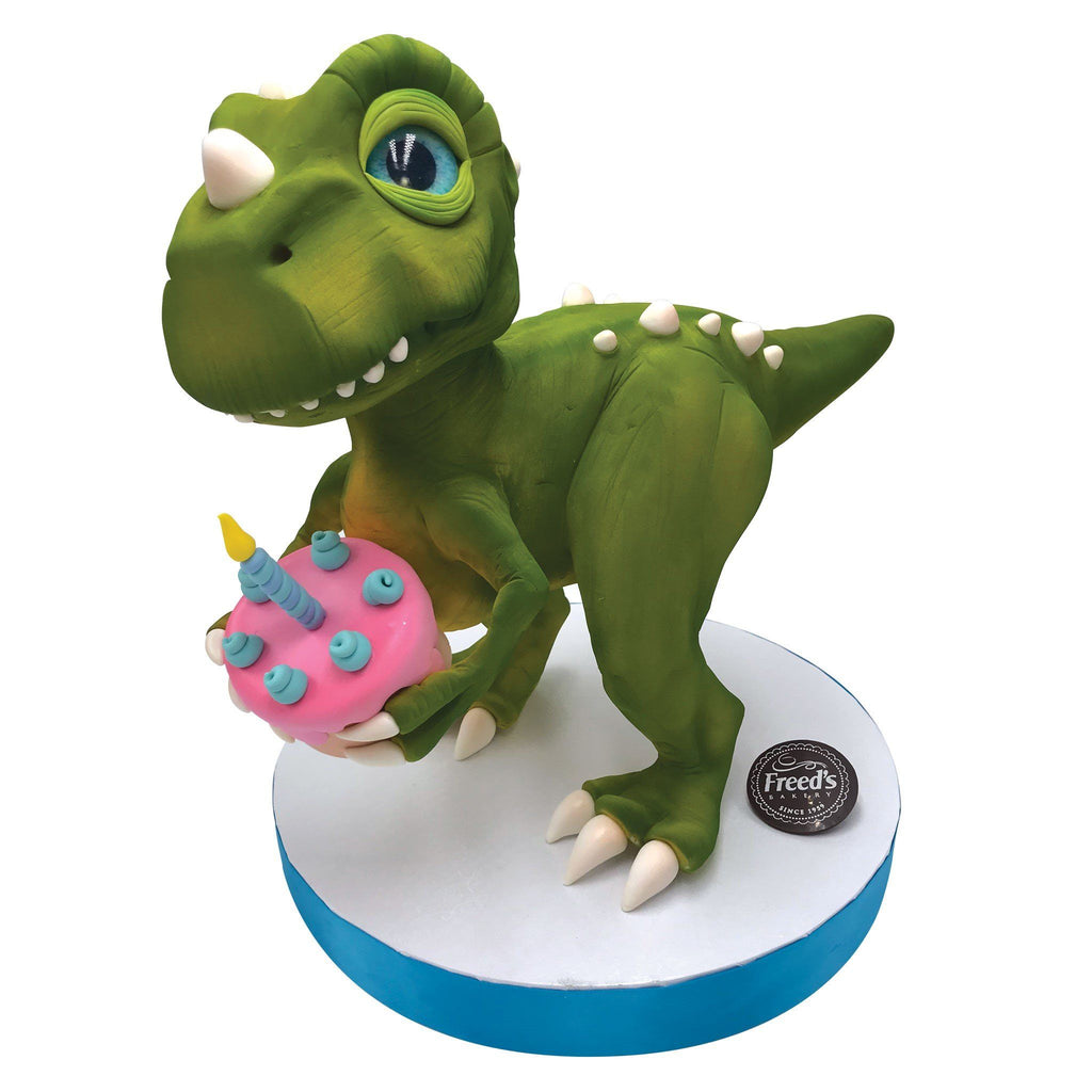 Cake-O-Saur Theme Cake Freed's Bakery