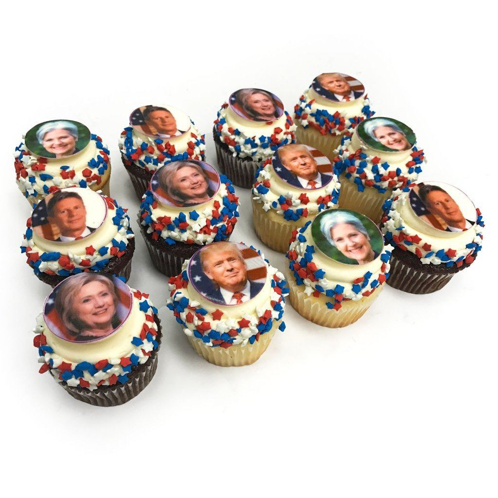 Election Cupcakes Cupcake Freed's Bakery