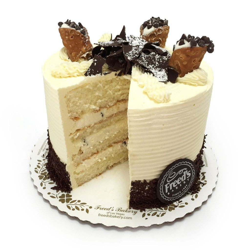 Cannoli Cake Nationwide Shipping