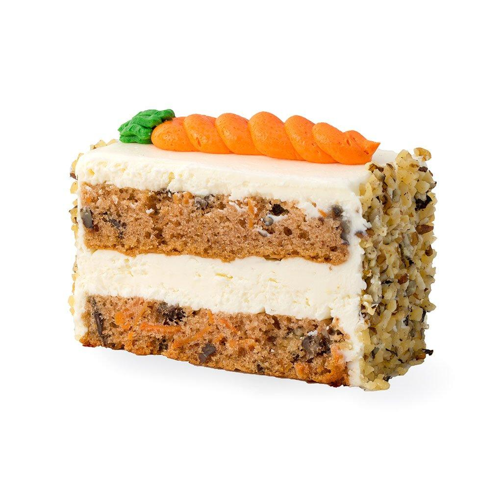 Carrot Cake Slice Cake Slice & Pastry Freed's Bakery