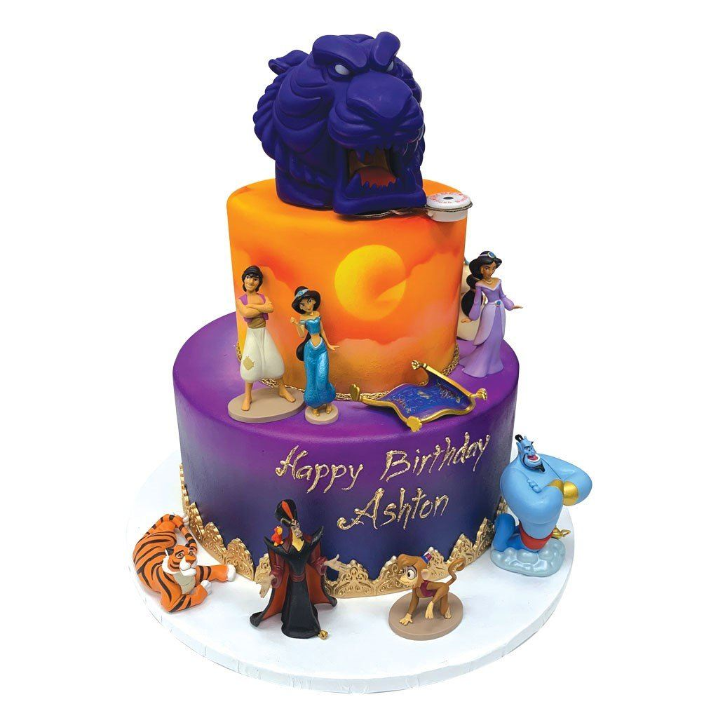 Cave of Wonders Theme Cake Freed's Bakery