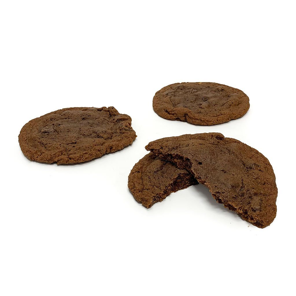 Extra Large Double Chocolate Chunk Cookie Cookie Freed's Bakery