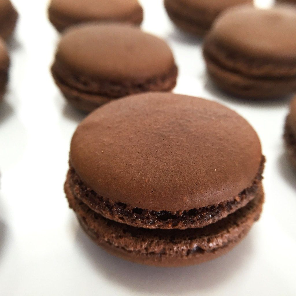 Chocolate Ganache French Macaron French Macaron Freed's Bakery