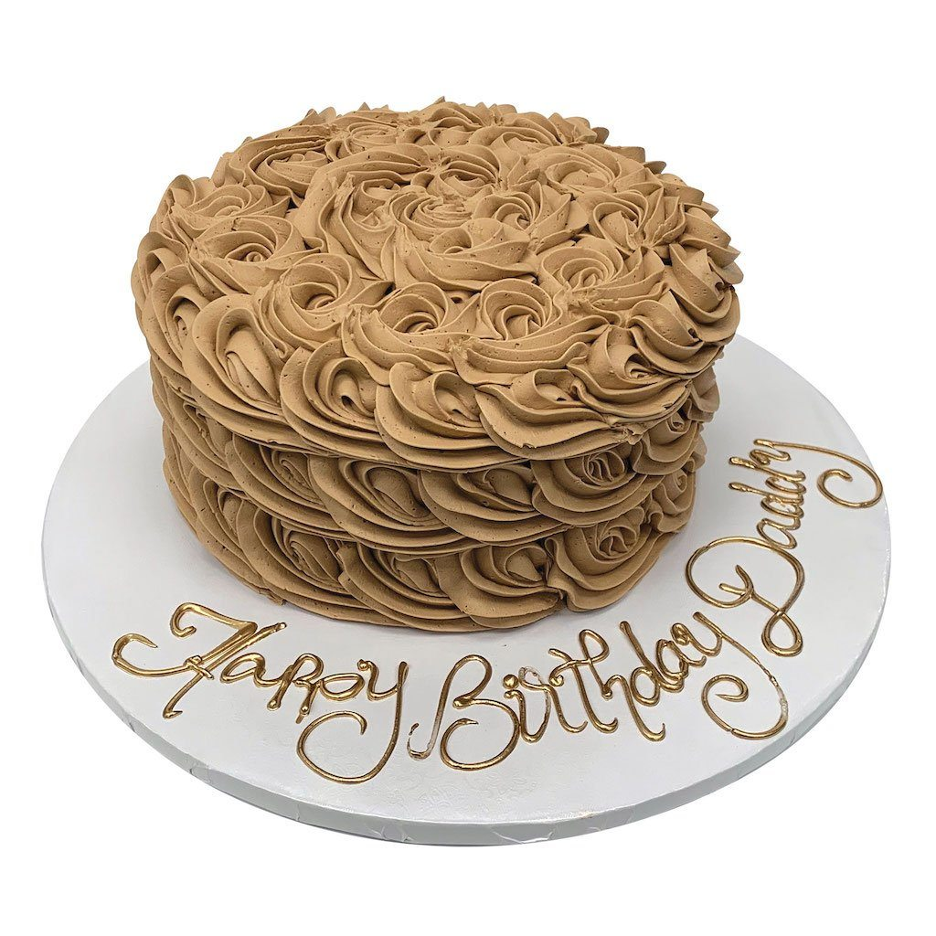 Chocolate Swirls Theme Cake Freed's Bakery