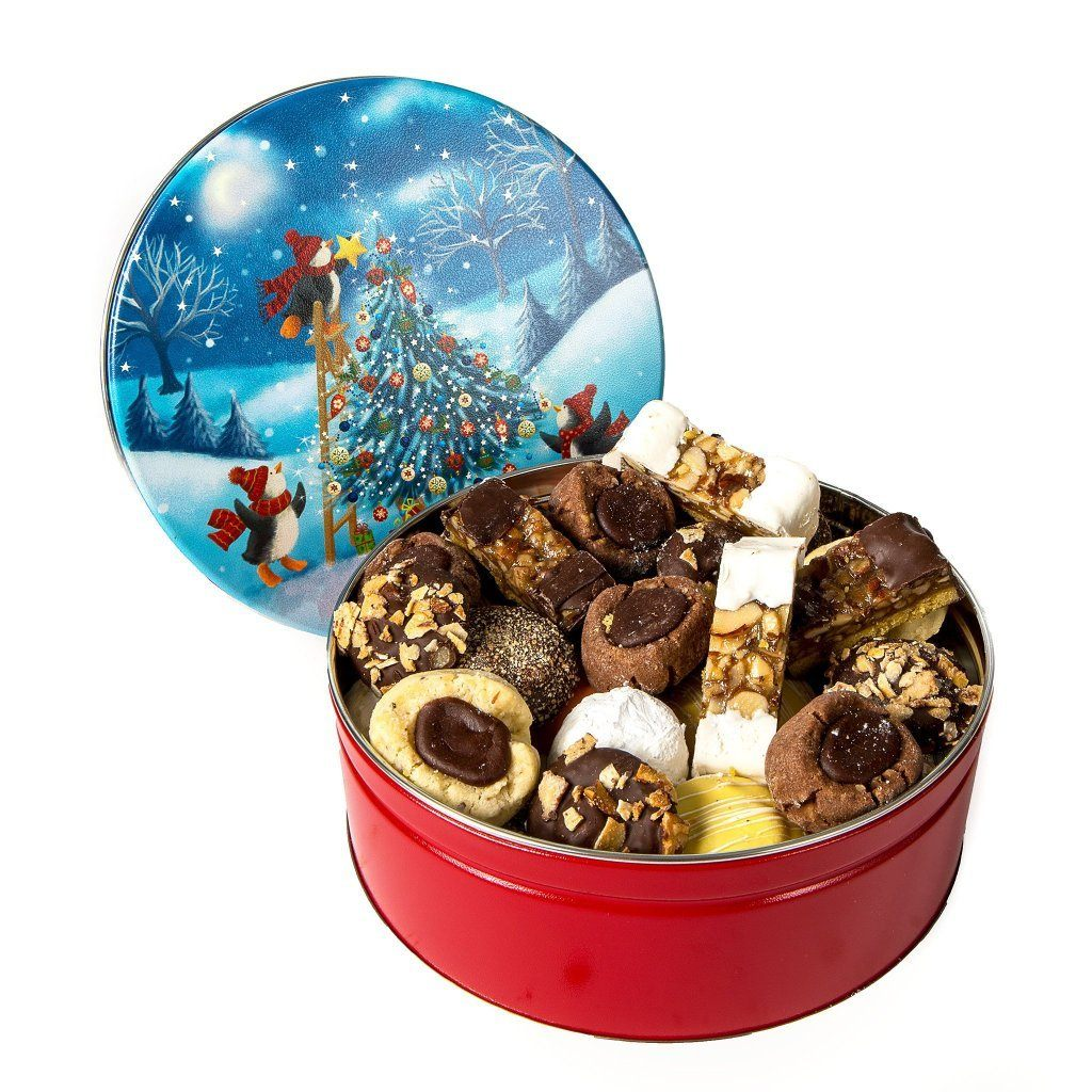 Christmas Tree Cookie Tin Cookie Tin Freed's Bakery