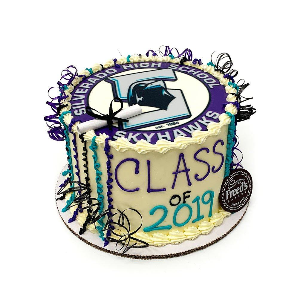 Class of Cake Graduation Freed's Bakery