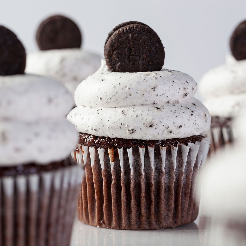 Cookies and Cream Vegas Cupcake Cupcake Freed's Bakery