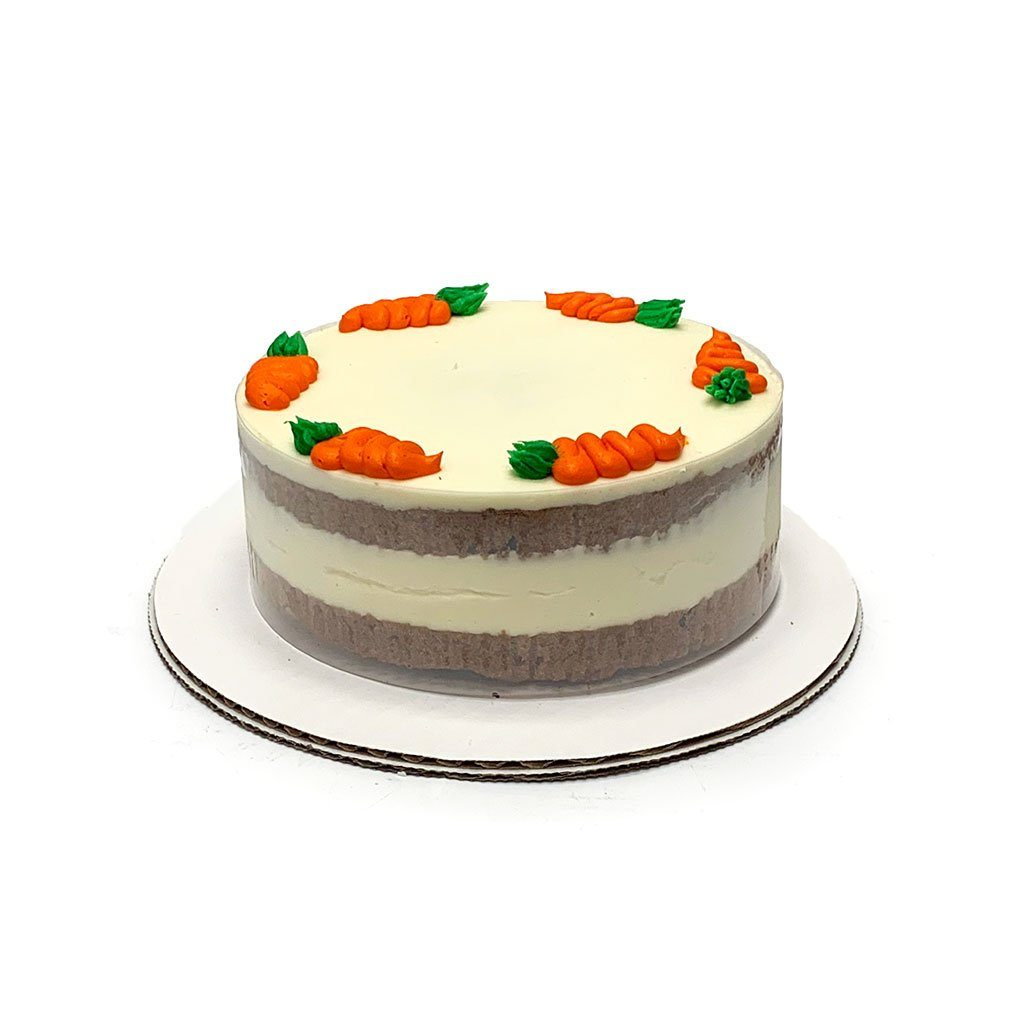 "Cozy-Sized Carrot Cake Dessert Cake Freed's Bakery Two-Layer 7"" Round (Serves 4-8 Guests)"