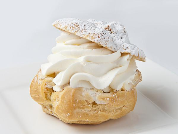 Cream Puff Cake Slice & Pastry Freed's Bakery