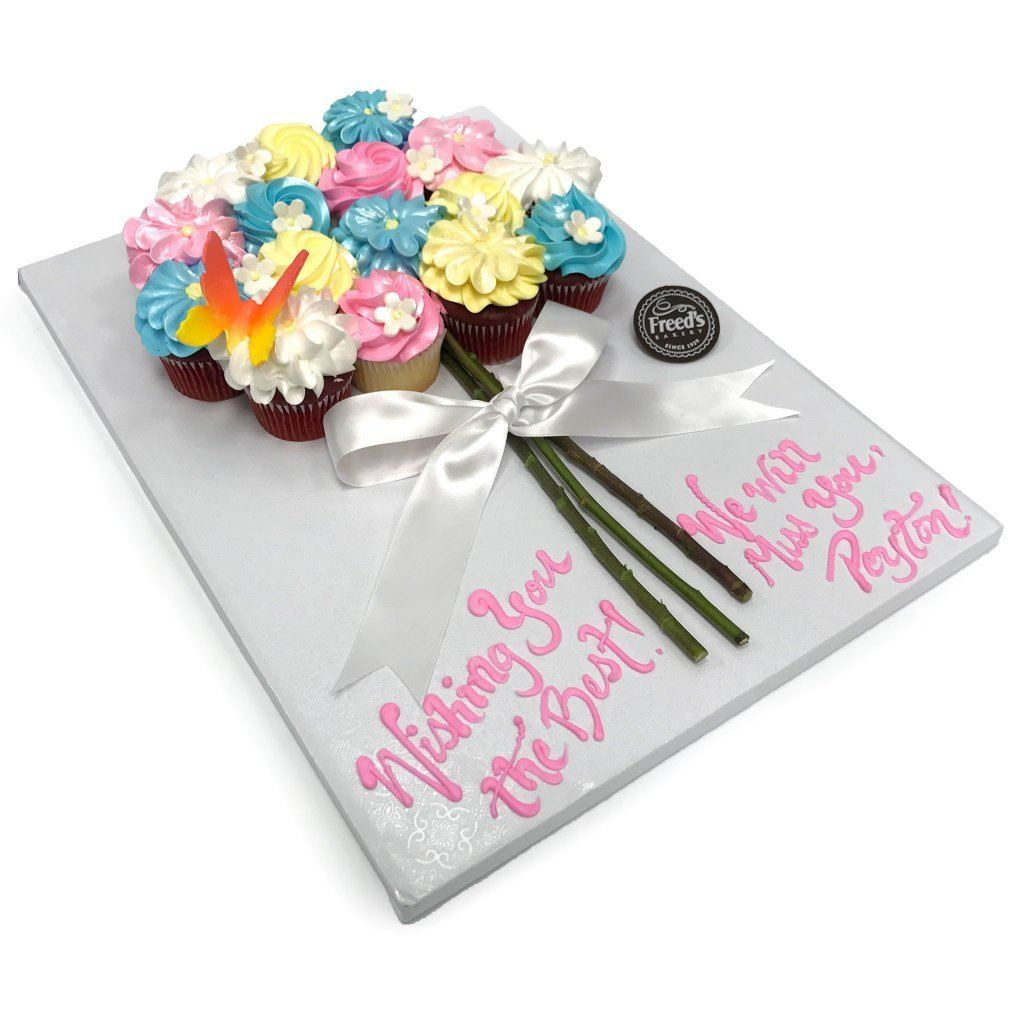Cupcake Bouquet - Freed\'s Bakery