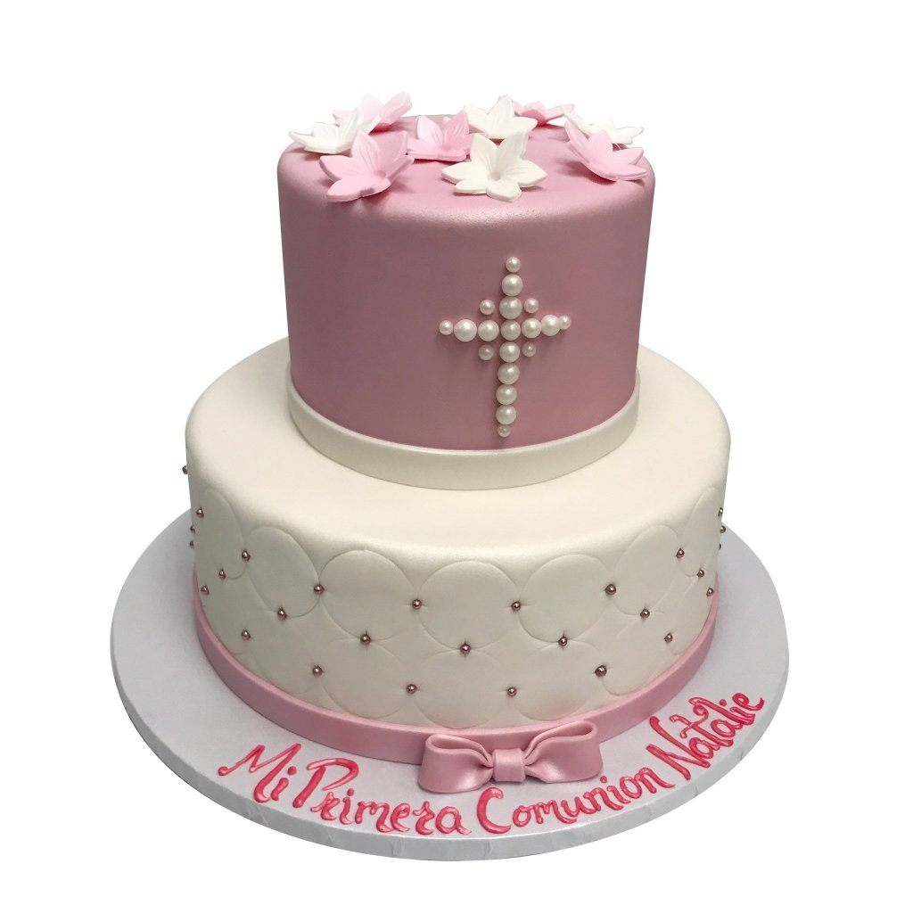 Cute Communion Theme Cake Freed's Bakery
