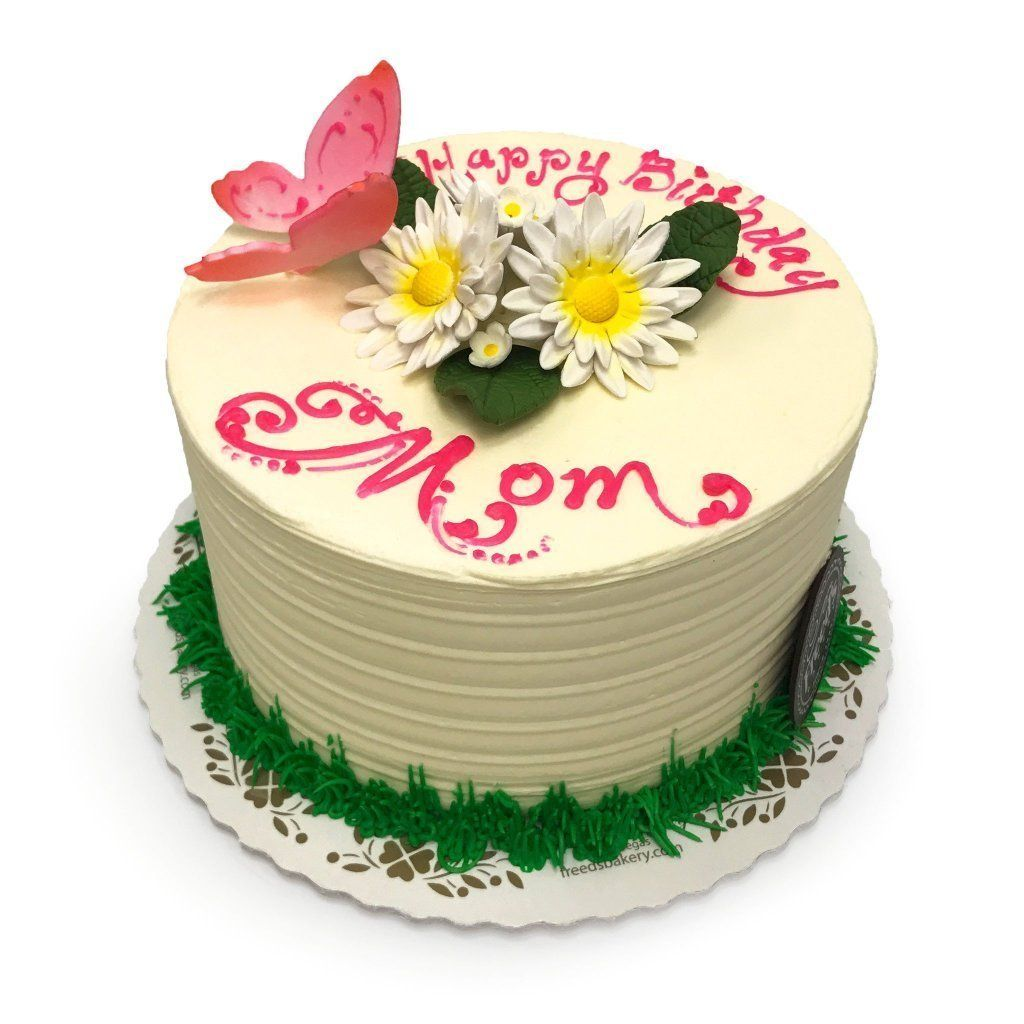 Daisy Garden Theme Cake Freed's Bakery