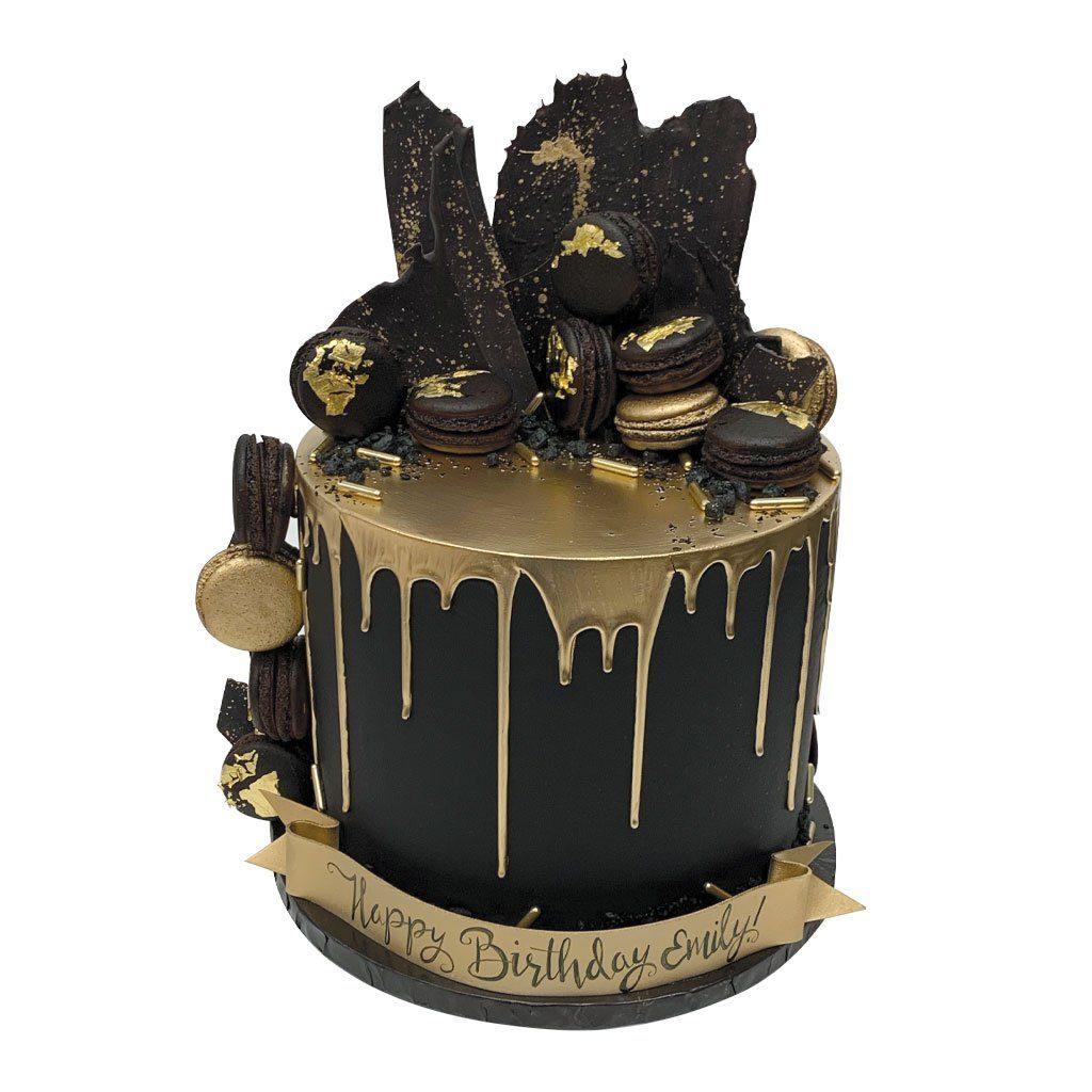 Dark Decadence Theme Cake Freed's Bakery