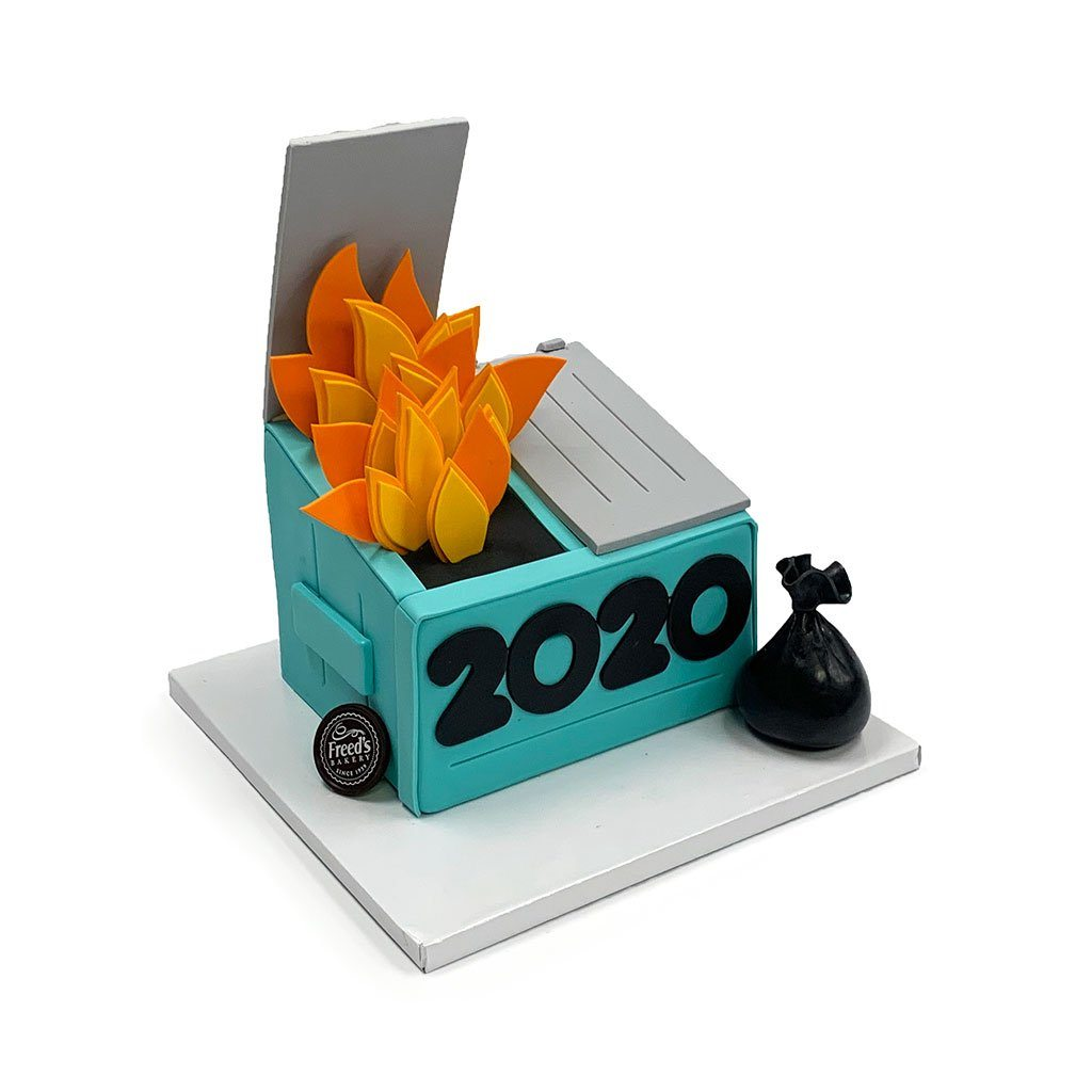 2020 Cake Theme Cake Freed's Bakery