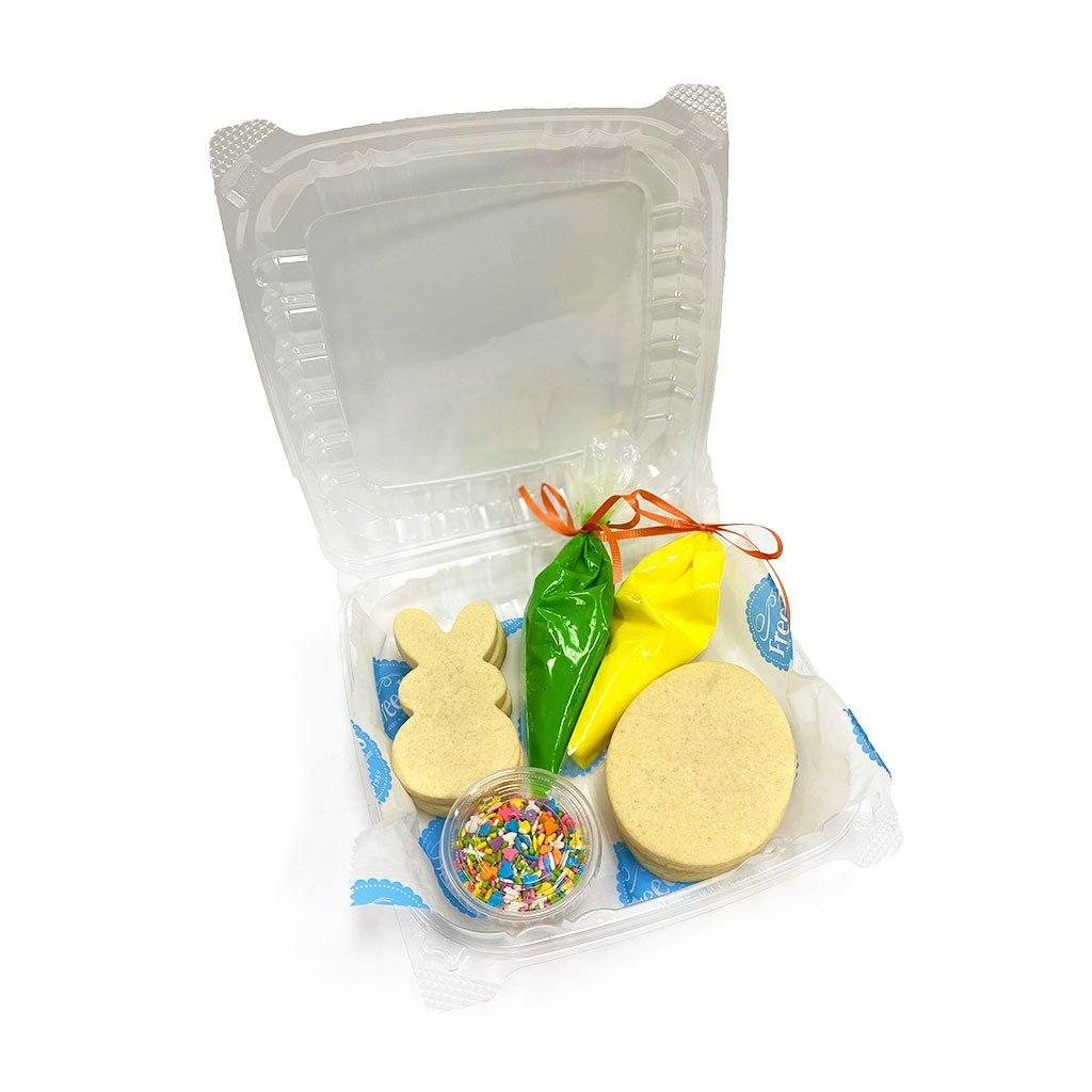 Kids Cookie Activity Kit Activity Kit Freed's Bakery Easter Theme - Green and Yellow