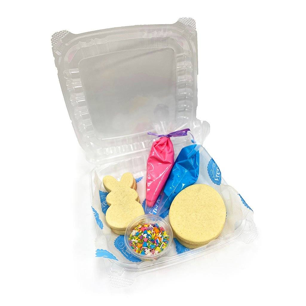 Kids Cookie Activity Kit Activity Kit Freed's Bakery Easter Theme - Pink and Blue
