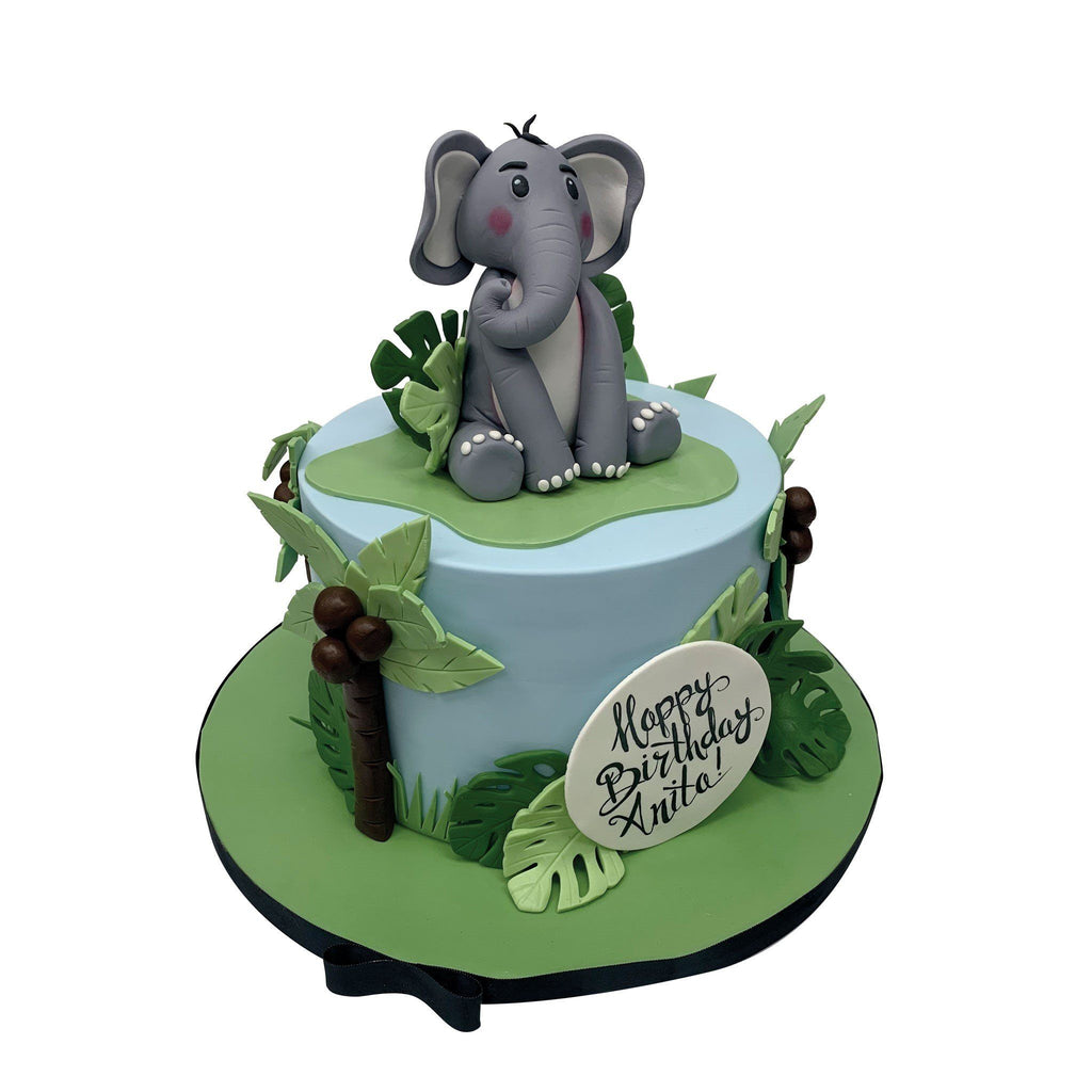 Elephant In The Room Theme Cake Freed's Bakery
